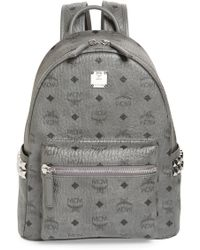 MCM - Small Stark Side Stud Backpack - Lyst