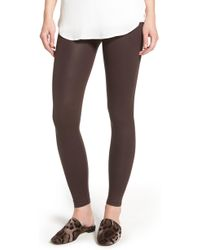 David Lerner - Coated Leggings - Lyst