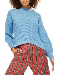 TOPSHOP | Balloon Links Sweater | Lyst