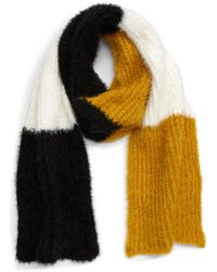 BP. - Colorblock Eyelash Yarn Scarf - Lyst