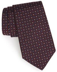 Gitman Brothers Vintage - Geometric Silk Tie - Lyst