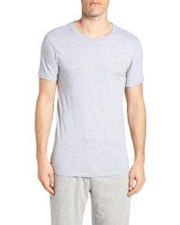 Lacoste - 3-pack Slim Fit Crewneck T-shirts, Black - Lyst