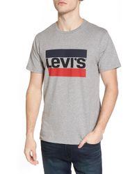 Levi's - Classic Graphic Tee Shirt Sportswear Logo - Lyst