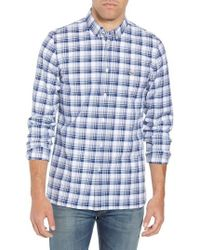 Lacoste - Slim Fit Check Oxford Sport Shirt - Lyst