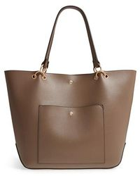 Sole Society - Fronto Faux Leather Tote - Lyst