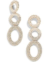 BaubleBar - Mimi Tiered Drop Earrings - Lyst
