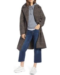 Treasure & Bond - Plaid Coat - Lyst