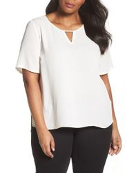Sejour | Curved High/low Top | Lyst