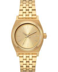 Nixon - Time Teller Bracelet Watch - Lyst