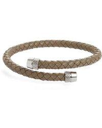 Ted Baker - Scores Leather Bracelet - Lyst