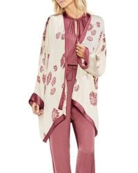 Vince Camuto - Chateau Sketch Floral Kimono - Lyst