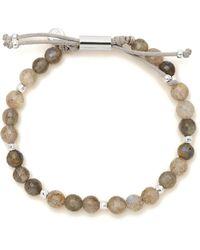 Gorjana - Power Semiprecious Stone Beaded Bracelet - Lyst
