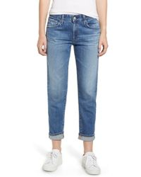 AG Jeans - Ex-boyfriend Relaxed Slim Jeans - Lyst