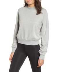 Kendall + Kylie - Open Back Sweatshirt - Lyst