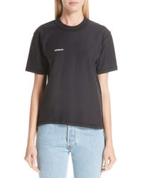 Vetements - Fitted Inside-out Tee - Lyst