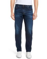 AG Jeans | Graduate Slim Straight Fit Jeans | Lyst