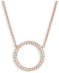 Nadri   Openwork Crystal Pendant Necklace   Lyst