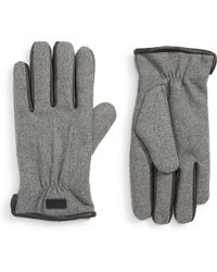 Ted Baker - Wool Lined Gloves - Lyst