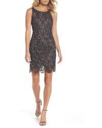 Pisarro Nights - Beaded Lace Sheath Dress - Lyst