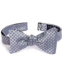 Ted Baker | Geometric Silk Bow Tie | Lyst