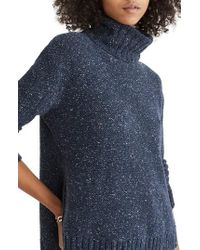 Madewell - Flecked Turtleneck Sweater - Lyst