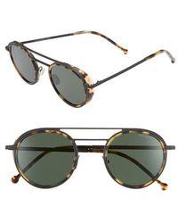 Cutler & Gross - 47mm Round Sunglasses - - Lyst