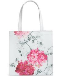 Ted Baker - Iviecon Babylon Print Small Icon Tote - Lyst