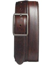 Bosca - Reversible Leather Belt - Lyst