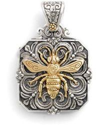 Konstantino - 'penelope' Bee Locket Pendant - Lyst