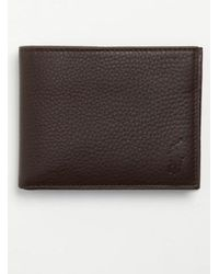 Polo Ralph Lauren | Leather Passcase Wallet | Lyst