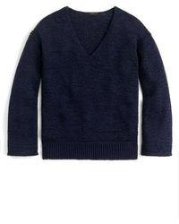 J.Crew | J.crew Flare Sleeve Swing Sweater | Lyst