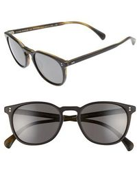 Oliver Peoples - Finley 51mm Retro Polarized Sunglasses - - Lyst