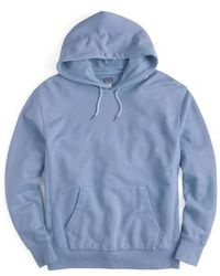 J.Crew | J.crew Garment Dyed French Terry Hoodie | Lyst