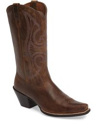 Ariat - Round Up D-toe Western Boot - Lyst