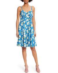 ModCloth - Floral Sundress - Lyst
