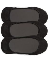 Hue - 3-pack Shade Match Sock Liners - Lyst