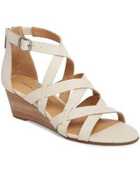 Lucky Brand | Jewelia Wedge Sandal | Lyst
