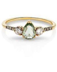 Maniamania - Radiance Sapphire & Diamond Ring - Lyst