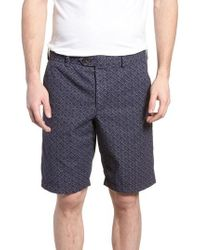 French Connection - Kast Tile Shorts - Lyst