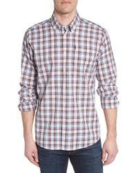 Barbour - Atholl Trim Fit Plaid Sport Shirt - Lyst