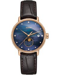 Rado - Coupole Classic Leather Strap Watch - Lyst