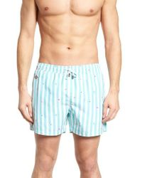 Nikben - Eyecreme Slim Fit Swim Trunks - Lyst
