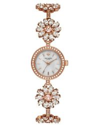 Kate Spade - Daisy Chain Crystal Watch - Lyst