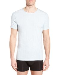 Lacoste - 2-pack Superfine Crewneck T-shirts, Grey - Lyst