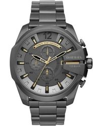 DIESEL | Diesel Mega Chief Chronograph Bracelet Watch | Lyst
