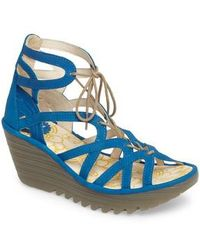 Fly London - 'yuke' Platform Wedge Sandal - Lyst