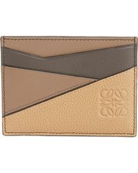 Loewe - Puzzle Leather Card Case - Lyst