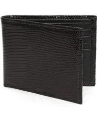 Torino Leather Company - Genuine Lizard Wallet - Lyst