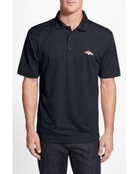 Cutter & Buck - Denver Broncos - Genre Drytec Moisture Wicking Polo - Lyst
