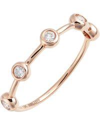 Bony Levy - Monaco Bezel Diamond Ring (nordstrom Exclusive) - Lyst